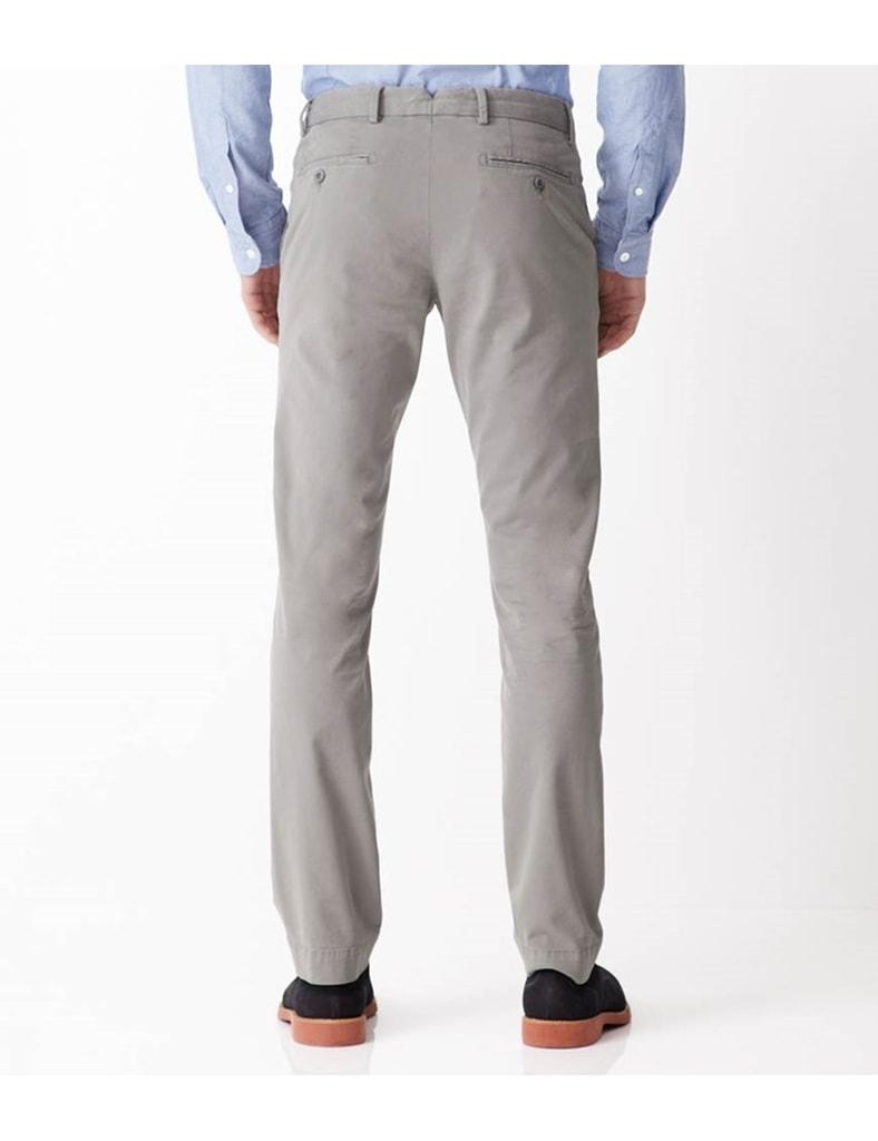 8e9378c4659 Pánské slim fit chinos barvy šedé