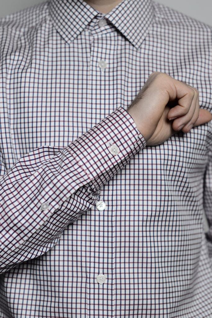 Luxusní pánská košile Jarda ze 100% bavlny  61c498da91