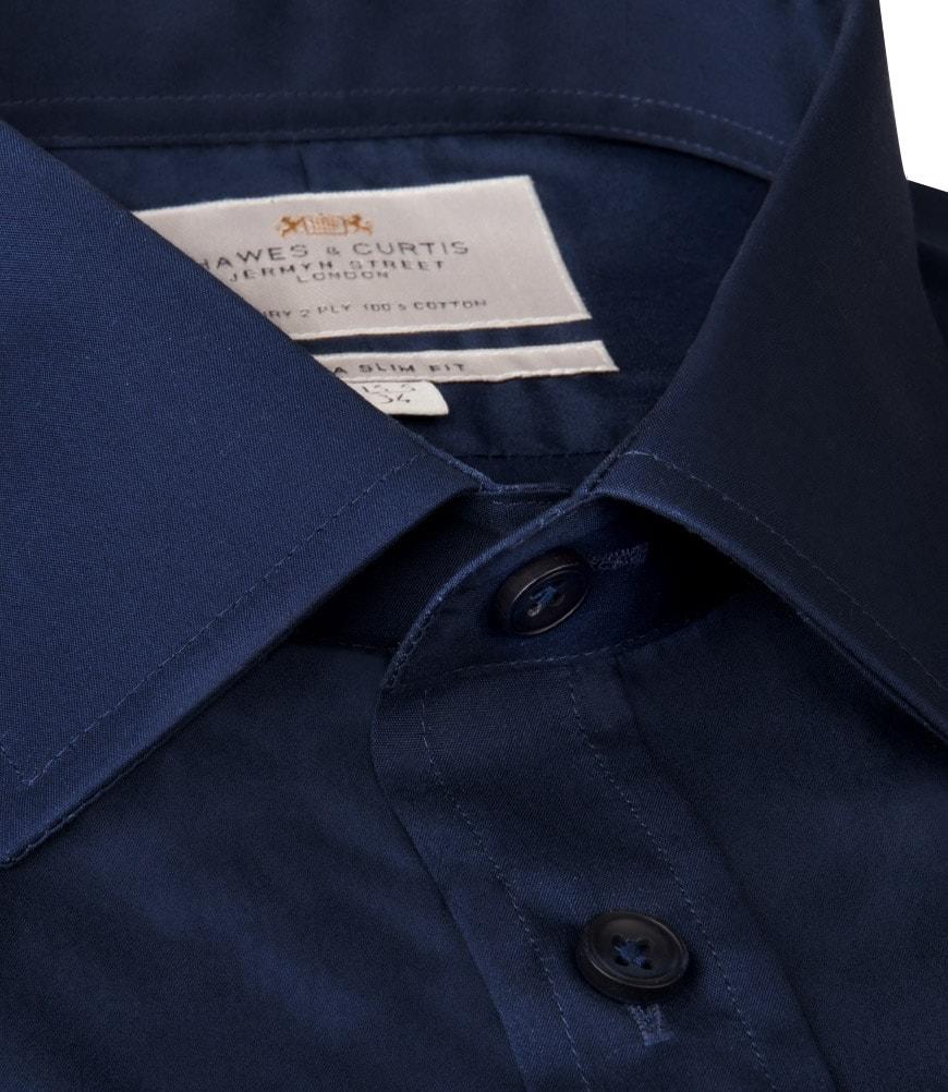5a9057a1d96 Tmavě modrá pánská košile