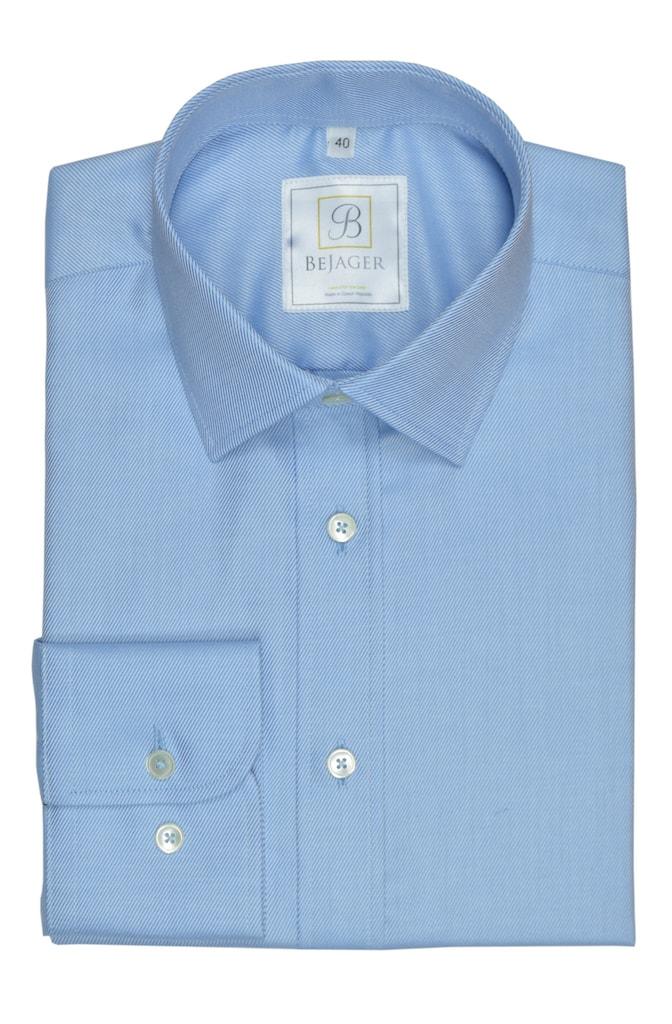 Světle modrá pánská košile Oliver ze 100% bavlny  6452ab138a
